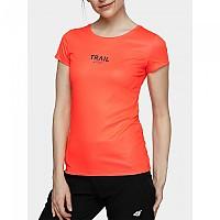 [해외]4F Short Sleeve T-Shirt 4138349570 Salmon Coral Neon