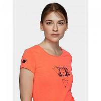 [해외]4F Short Sleeve T-Shirt 4138349571 Salmon Coral Neon