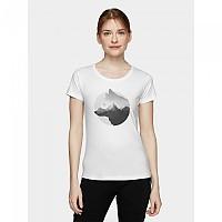 [해외]4F Short Sleeve T-Shirt 4138349574 White