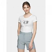 [해외]4F Short Sleeve T-Shirt 4138349576 White