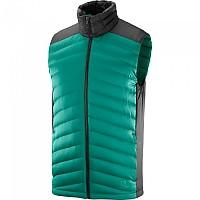 [해외]살로몬 Essential Xwarm Down Vest 4138166979 Pacific / Black