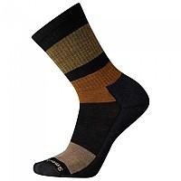 [해외]스마트울 Blocked Stripe Crew Socks 4138211573 Black