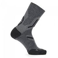 [해외]UYN Trekking 2in Merino Mid Socks 4138217588 Mid Grey / Black