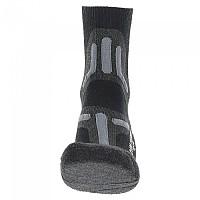 [해외]UYN Trekking 2in Merino Socks 4138217591 Black / Grey