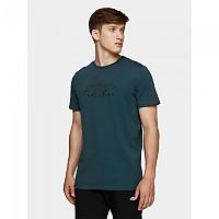 [해외]4F Short Sleeve T-Shirt 4138349548 Denim