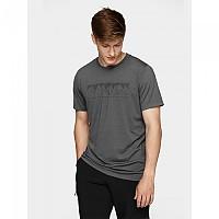 [해외]4F Short Sleeve T-Shirt 4138349558 Middle Grey Melange