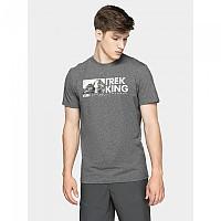 [해외]4F Short Sleeve T-Shirt 4138349559 Middle Grey Melange