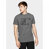 [해외]4F Short Sleeve T-Shirt 4138349560 Middle Grey Melange