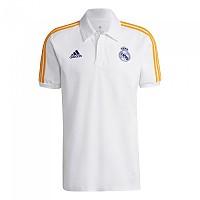 [해외]아디다스 Real Madrid 21/22 3 Stripes Polo 3138102497 White / Victory Blue / Lucky Orange
