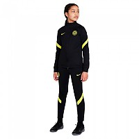 [해외]나이키 Chelsea FC Strike 21/22 Junior Track Suit 3138251108 Black / Black / Opti Yellow / Opti Yellow