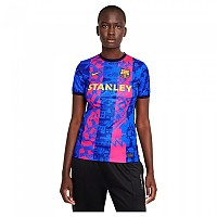 [해외]나이키 FC Barcelona Third 21/22 Woman T-Shirt 3138252952 Hyper Royal / Blackened Blue / Varsity Maize