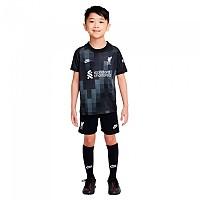 [해외]나이키 Liverpool FC Little Kit 20/21 Set 3138253267 Black / White
