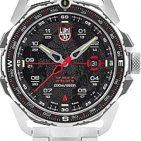 [해외]루미녹스 Ice Sar Arctic 1202 Watch 3137197156 Black / Red