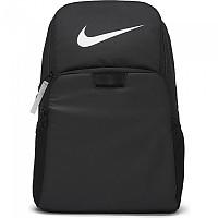 [해외]나이키 Brasilia Graphic Large Backpack 3138297784 Black / Black / Metallic Silver