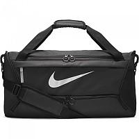 [해외]나이키 Brasilia M Bag 3138297789 Black / Black / Metallic Silver