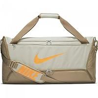 [해외]나이키 Brasilia Training Bag 3138345752 Stone / Sandalwood / Total Orange