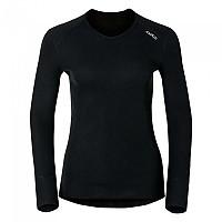 [해외]오들로 V Neck Warm Long Sleeve Base Layer 3670756 Black