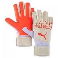 [해외]푸마 Future Z Grip 3 NC Goalkeeper Gloves Refurbished 3138348501 Puma White / Red Blast