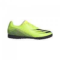 [해외]아디다스 X Ghosted .4 TF Football Boots Refurbished 3138354840 Solar Yellow / Core Black / Team Royal Blue