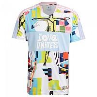 [해외]아디다스 Tiro Love Shirt 3138110356 True Pink / Glow Blue