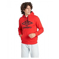 [해외]엄브로 Large Logo Half Zip Hoodie 3138198950 High Risk Red