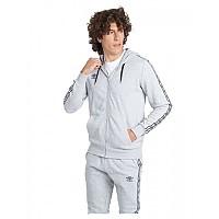 [해외]엄브로 Taped Zip Full Zip Sweatshirt 3138198969 Grey Marl / Black