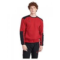[해외]엄브로 Utility Clear Block Sweatshirt 3138198977 Red Dahlia / Black