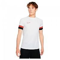 [해외]나이키 Dri Fit Academy Short Sleeve T-Shirt 3138251632 White / Black / Bright Crimson
