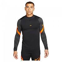[해외]나이키 Dri Fit Strike Long Sleeve T-Shirt 3138297849 Black / Anthracite / Total Orange