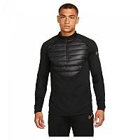 [해외]나이키 Therma Fit Academy Long Sleeve T-Shirt 3138298027 Black / Black / Total Orange