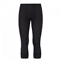 [해외]오들로 Cubic 3/4 Leggings 3670534 Ebony Grey - Black