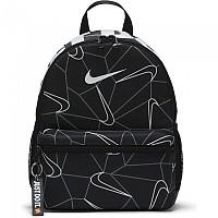 [해외]나이키 Brasilia Just Do It Mini Printed Backpack Black / Black / White