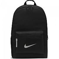 [해외]나이키 Sportswear Heritage Backpack Black / Black / Metallic Silver