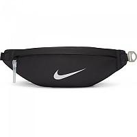 [해외]나이키 Sportswear Heritage Waist Pack Black / Black / Metallic Silver