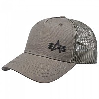 [해외]알파 인더스트리 Trucker Small Logo Cap Dark Green