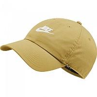 [해외]나이키 Sportswear Heritage 86 Futura Washed Cap Saturn Gold / White