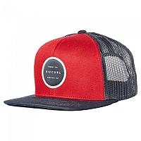 [해외]립컬 Routine Trucker Cap Black / Red