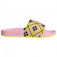 [해외]아디다스 ORIGINALS Adilette Flip Flops True Pink / Acid Yellow / Core Black
