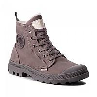 [해외]PALLADIUM Pampa Hi Zip WL Boots Cloudburst / Charcoal Gray