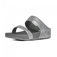 [해외]핏플랍 Lulu Superglitz Flip Flops Silver