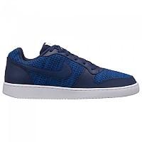 [해외]나이키 Ebernon Low Premium Trainers Gym Blue / Midnight Navy / White