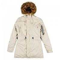 [해외]알파 인더스트리 Explorer Without Patches Jacket Off White