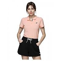 [해외]4F Short Sleeve Polo Light Pink
