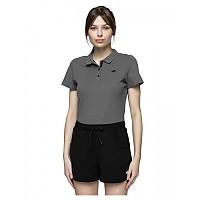 [해외]4F Short Sleeve Polo Middle Grey Melange