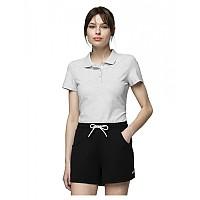 [해외]4F Short Sleeve Polo White Melange