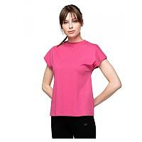[해외]4F Short Sleeve T-Shirt Hot Pink