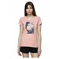 [해외]4F Short Sleeve T-Shirt Pale Coral