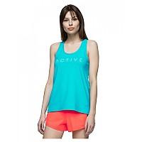 [해외]4F Sleeveless T-Shirt Blue