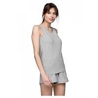 [해외]4F Sleeveless T-Shirt Cold / Light Grey Melange