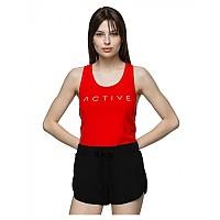 [해외]4F Sleeveless T-Shirt Red